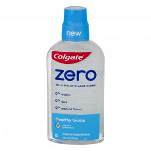 Colgate Zero Healthy Gums Natural Spearmint Mouthwash