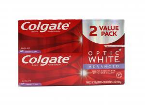 Colgate Optic White Advanced Toothpaste Vibrant Clean
