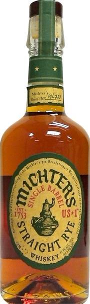 Michter's Single Barrel Rye whiskey