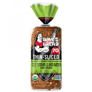 Dave's Killer Bread Thin Sliced 21 Whole Grains & Seeds