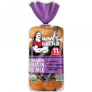 Dave's Killer Bread Cinnamon Raisin Remix Organic Bagels