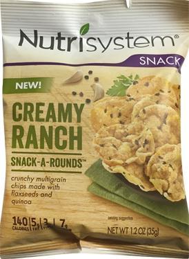 Nutrisystem Multigrain Creamy Ranch Chips