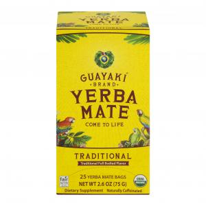 Guayaki Traditional Mate Tea Bags