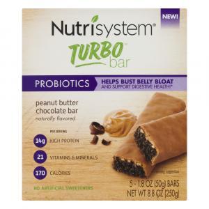 Nutrisystem Turbo Probiotics Peanut Butter Chocolate Bar