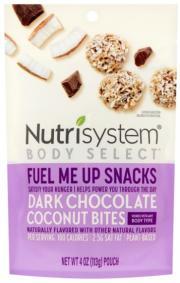 Nutrisystem Body Select Dark Chocolate Coconut Bites