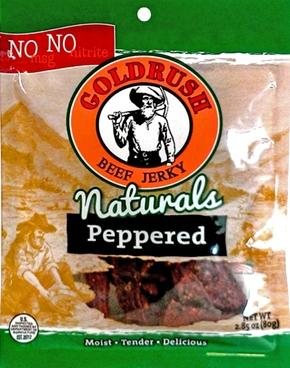 Gold Rush Peppered Beef Jerky