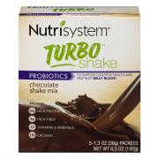 Nutrisystem Turbo Chocolate Shake Mix