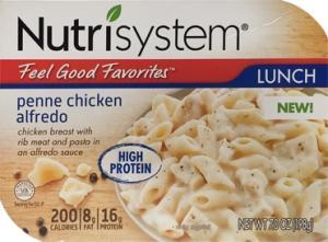 Nutrisystem Chicken Alfredo Penne