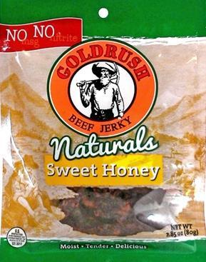 Gold Rush Sweet Honey Beef Jerky