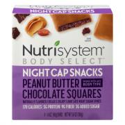 Nutrisystem Body Select Peanut Butter Chocolaty Squares