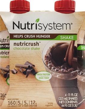 Nutrisystem Ready To Drink Shake Chocolate