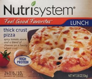 Nutrisystem Thick Crust Pizza