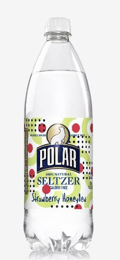 Polar Seltzer Strawberry Honeydew
