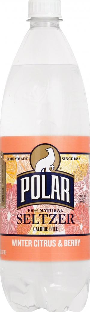 Polar Winter Citrus And Berry Seltzer Water