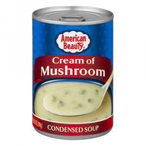 American Beauty Cream of Mushroom Condensed Soup