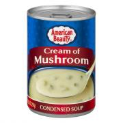 American Beauty Cream of Mushroom Condensed Soup