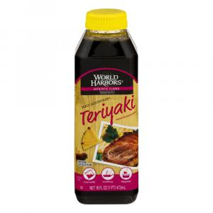 World Harbors Maui Mountain Teriyaki Marinade