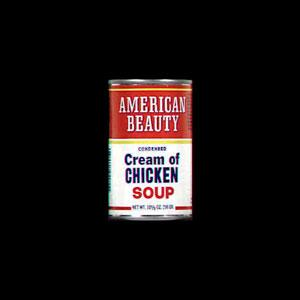 American Beauty Cream of Chicken Condensed Soup