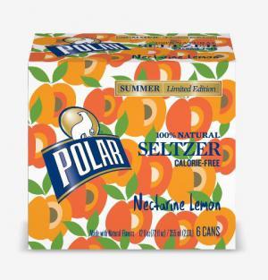 Polar Seltzer Nectarine Lemon