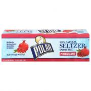 Polar Pomegranate Seltzer Water