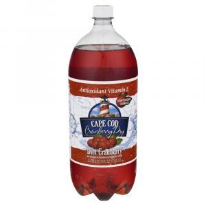 Cape Cod Diet Cranberry Soda