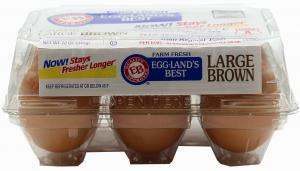 "Eggland's Best Large Brown ""grade A"" Eggs"
