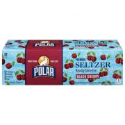 Polar Black Cherry Seltzer Water