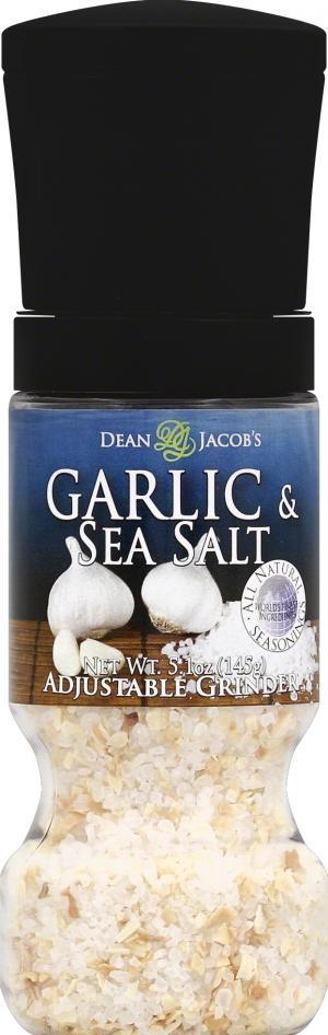 Dean & Jacob's Garlic & Sea Salt Gripper Grinder