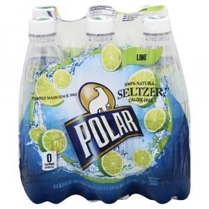 Polar Lime Seltzer Water