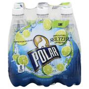 Polar Lime Seltzer Water