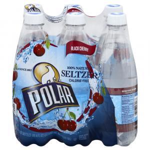 Polar Seltzer Black Cherry