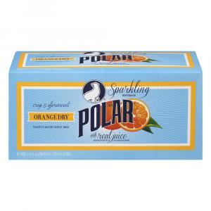 Polar Orange Dry Sparkling Beverage