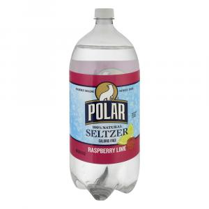 Polar Raspberry Lime Seltzer Water