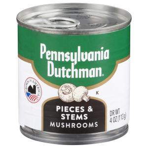 Pennsylvania Dutchman Mushrooms Stems And Pieces