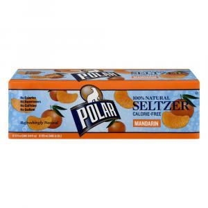 Polar Mandarin Seltzer Water
