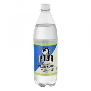 Polar Premium Club Soda Twist Lime