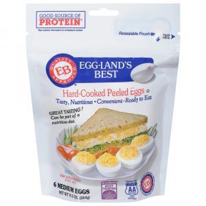 Eggland's Best Hard Cooked Peeled Eggs