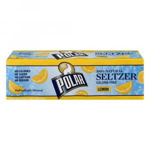 Polar Lemon Seltzer Water