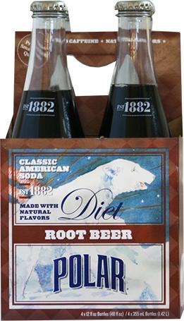 Polar Classics Diet Root Beer