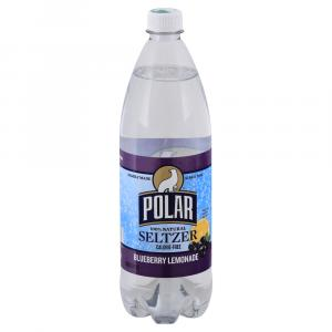 Polar Ruby Blueberry Lemonade Seltzer Water