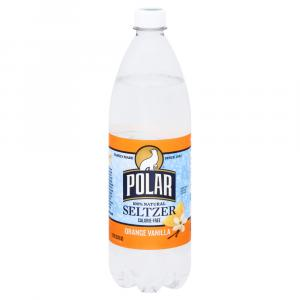 Polar Seltzer Orange Vanilla