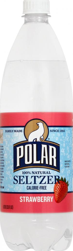 Polar Strawberry Seltzer Water