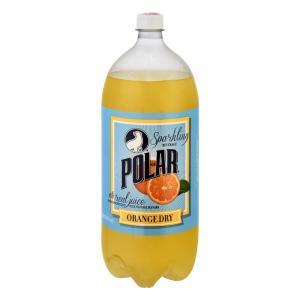 Polar Orange Dry Soda