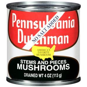 Pennsylvania Dutchman Mushrooms Stems And Pieces Nsa