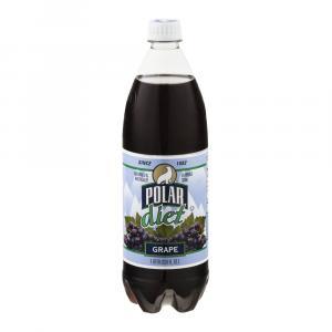 Polar Diet Grape Soda