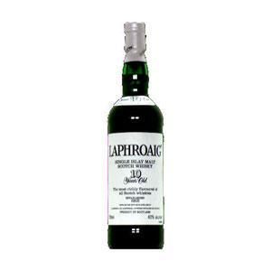 Laphroaig 10 Year Old Scotch