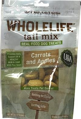 Trail Mix Apples & Carrots Dog Treats