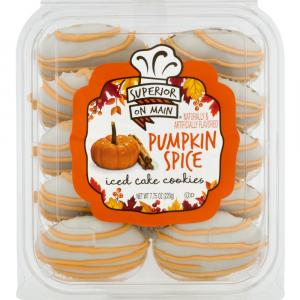 Superior On Main Pumpkin Spice Iced Cake Cookies