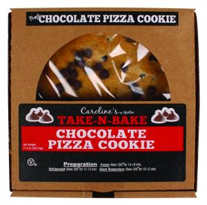 Caroline's Take-N-Bake Chocolate Pizza Cookie