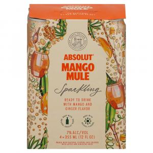 Absolut Mango Mule Sparkling